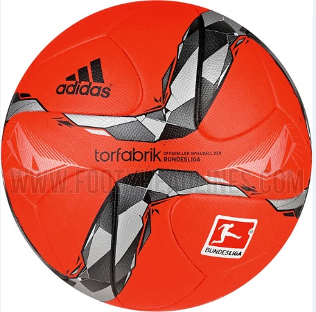 New Adidas torfabrik 2015-16 bundesliga winter ball