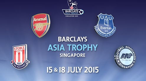 Premier League Asia Trophy Pre Season 2015 schedule
