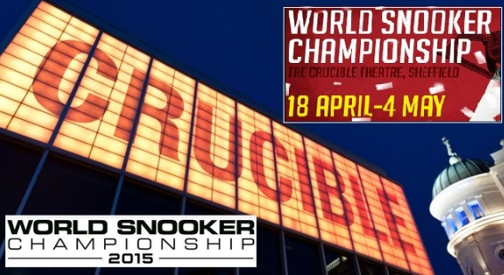 World Snooker Championship 2015 live stream