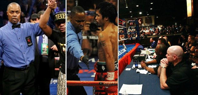Boxing referee judges salaries 2015