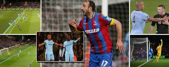 Crystal Palace vs Man City Highlights 2015