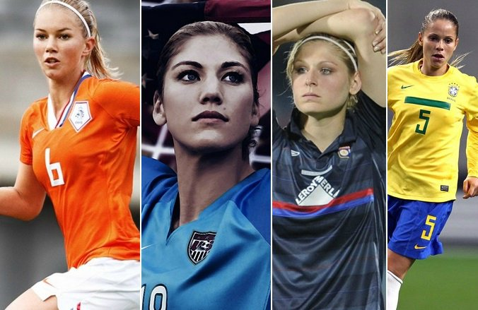 Hottest Women Footballers in 2015 FIFA World Cup