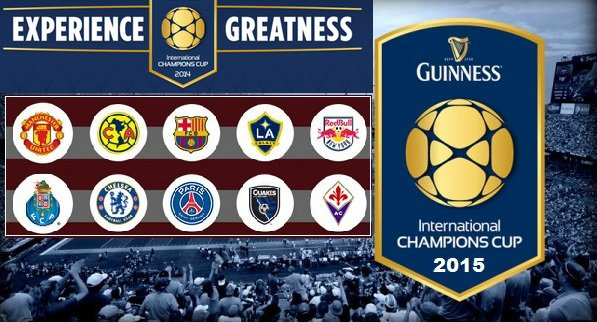 International champions cup 2015 Tickets