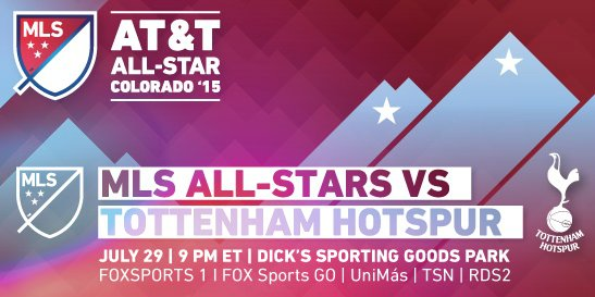 MLS All Star vs Tottenham Live Stream