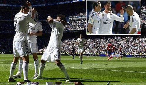 Real Madrid vs Granada 9-1 Highlights 2015 LA Liga