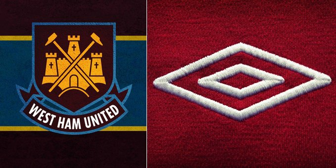 West Ham Umbro kit deal 2016-2020