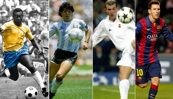 10 Greatest soccer player of all times