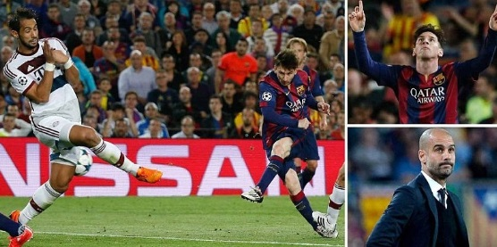 Barcelona 2-0 Bayern Munich 2015 Highlights