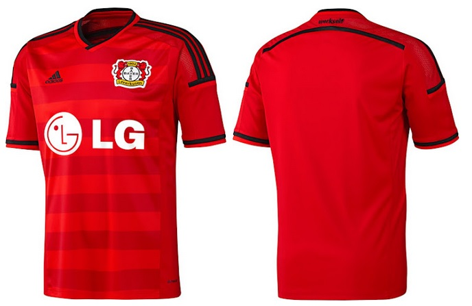 Bayer Leverkusen away kit 2015-16 released