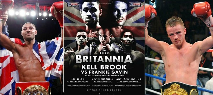 Brook vs Gavin Live Stream