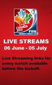FIFA Women World Cup Live Stream