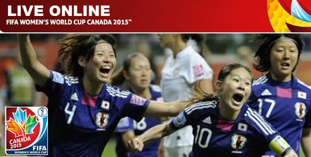 FIFA women World Cup 2015 Live Stream