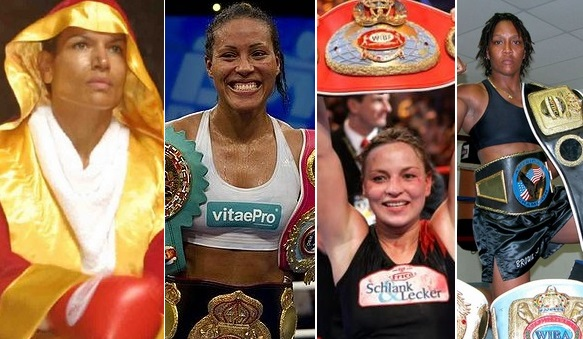 Greatest Female Fighters boxers of all times