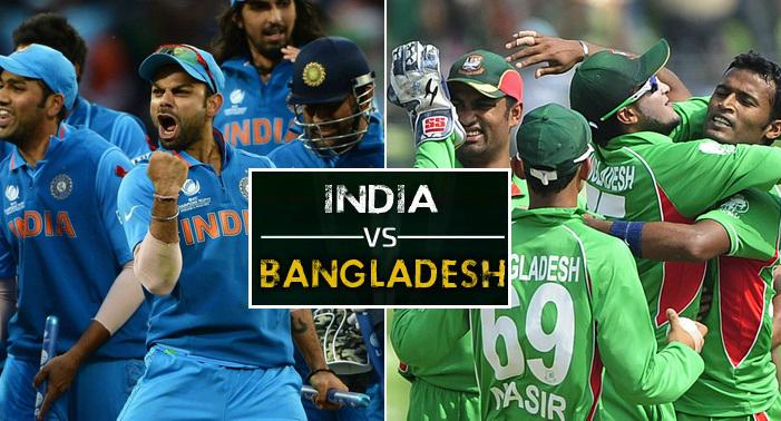 India vs Bangladesh 2015 Schedule
