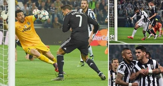 Juventus vs Real Madrid 2015 Highlights