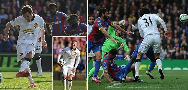 Manchester United 2-1 Crystal Palace Highlights 2015