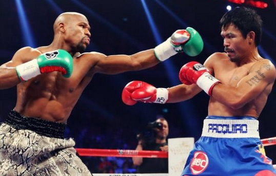 Mayweather vs Pacquiao Replay Video Highlights