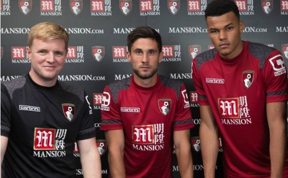 AFC Bournemouth 2015-16 shirt sponsorship deal