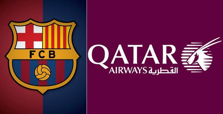 Barcelona qatar airways record breaking shirt sponsorship deal