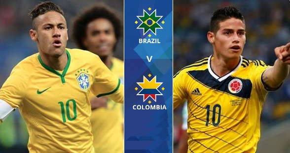 Brazil vs Colombia live stream highlights 2015 copa america