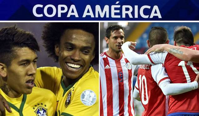 Brazil vs Paraguay live stream highlights copa america