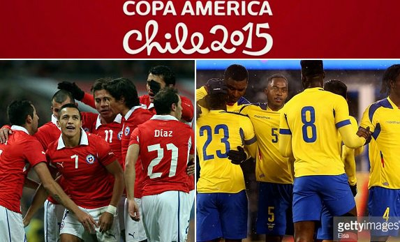 Chile vs Ecuador live stream highlights copa america