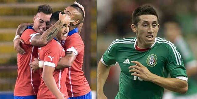 Chile vs Mexico Live Stream Highlights