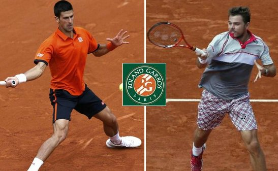 Djokovic vs Wawrinka live stream highlights 2015