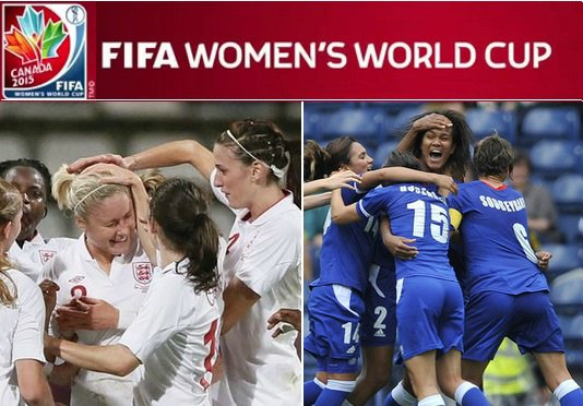 England vs France Women World CUp live stream highlights