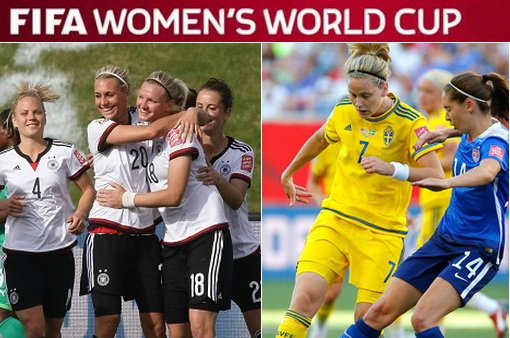 Germany vs Sweden live stream highlights Women world cup