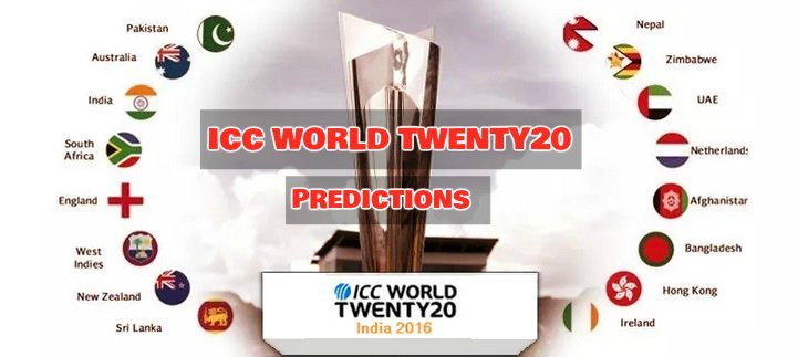 ICC T20 world cup predictions