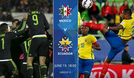 Mexico vs Ecuador live stream highlights