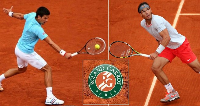 Nadal vs Djokovic live stream