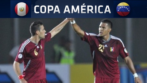 Peru vs Venezuela Live stream highlights 2015 copa america