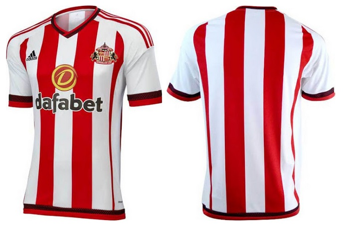 Sunderland 2015-16 home kit released