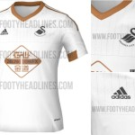 New Swansea City 2015-16 Home Away Kits (Released)