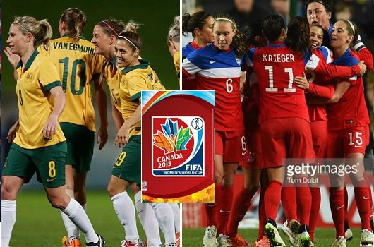 USA vs Australia Live Stream Highlights 2015 women world