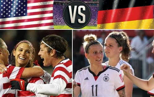 USA vs Germany women world cup live stream highlights