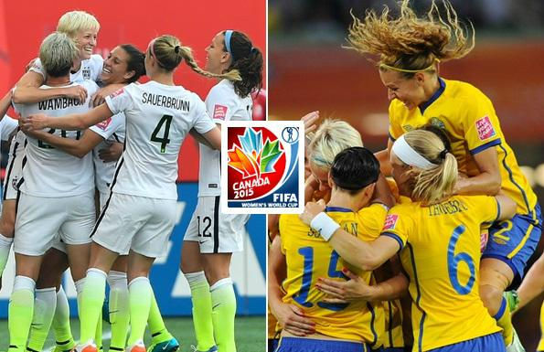 USA vs Sweden Women World Cup live stream