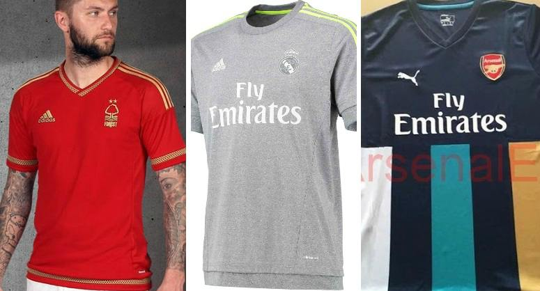 Best Worst football kits 2015-16