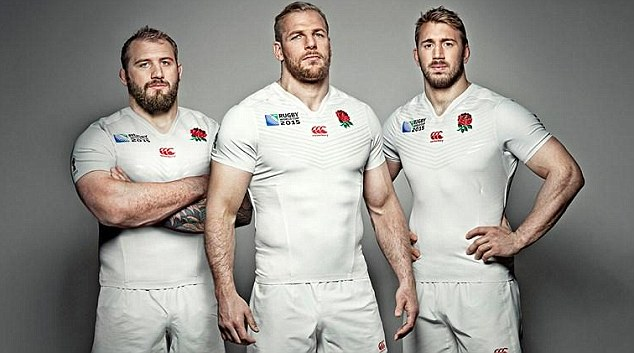 England 2015 Rugby World Cup Jerseys released