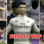 FIFA 16's Possible Top 10 Highest Rated Players