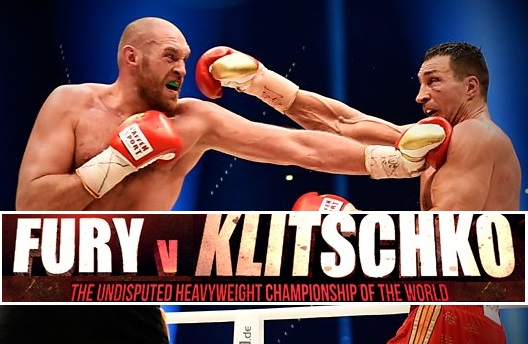 Fury vs Klitschko tv channels