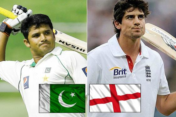 Pakistan vs England 2015 schedule channels