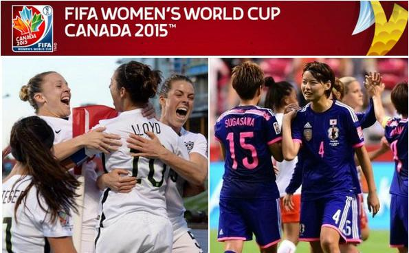 USA vs Japan live stream highlights women world cup 2015