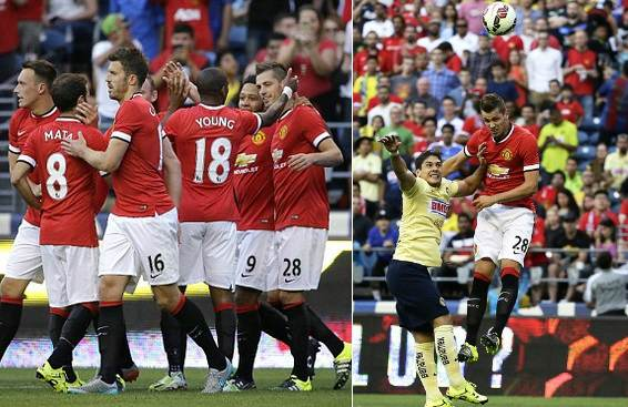 manchester united vs club america highlights video