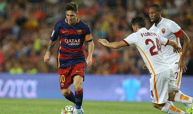 FC Barcelona vs Roma Highlights 2015 friendly
