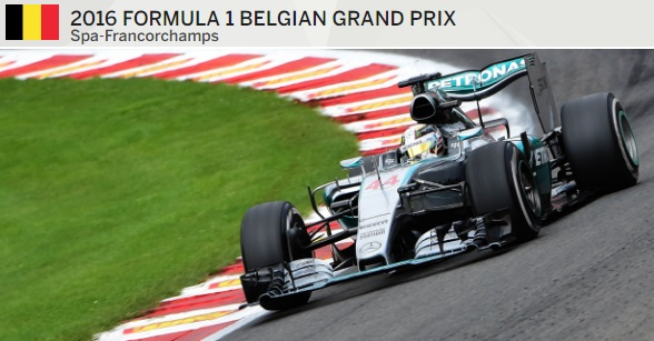 Belgian Formula 1 Grand Prix live highlights
