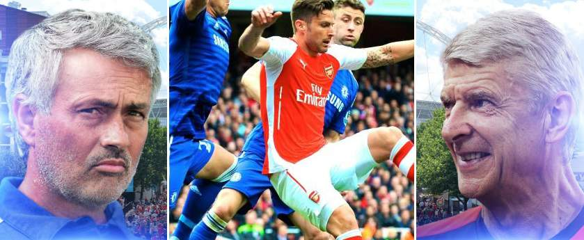 Chelsea vs Arsenal Highlights 2015 community shield
