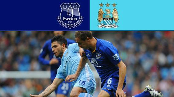 Everton vs Man City Highlights